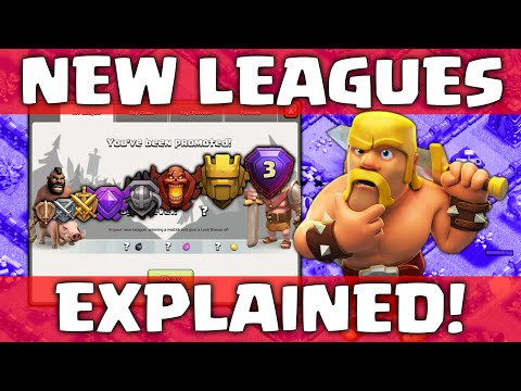 Clash of Clans - UPDATE New Leagues explained!