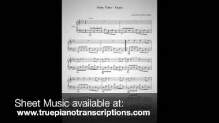 Only Time - Enya - piano