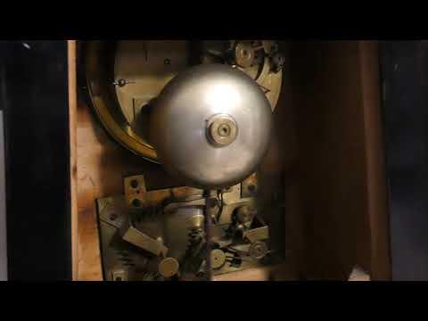 Mantle Clock Full Date 9A261