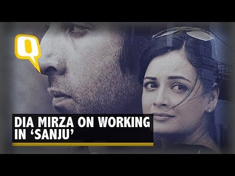 How Was Ranbir Kapoor on 鈥楽anju鈥� Sets? Hear It From Dia Mirza | The Quint