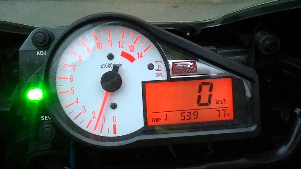 Suzuki Gsxr Speedometer