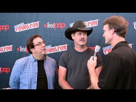 Wabbit's Jeff Bergman (Bugs Bunny) & Gary Hartle (Producer) Interviewed at NYCC