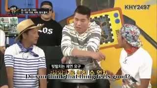 150622 BTS Jin Eating Habit on YamanTV [Fake English Subs]