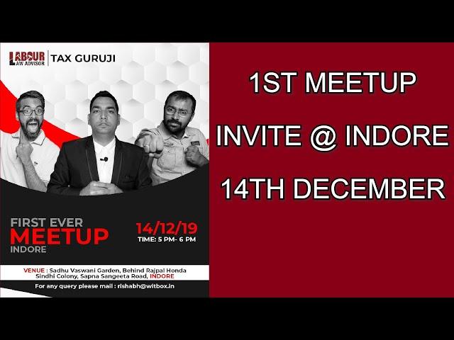 1st MEETUP invite @ INDORE  14th December