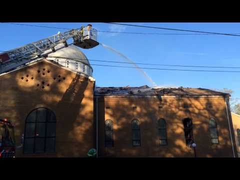 Fire at Saint George Greek Orthodox Church