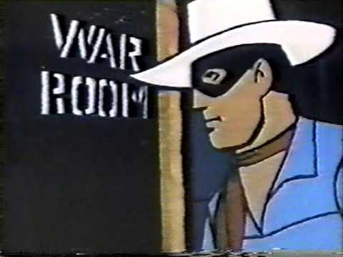 Lone Ranger Cartoon 1966 - The Secret Army of General X