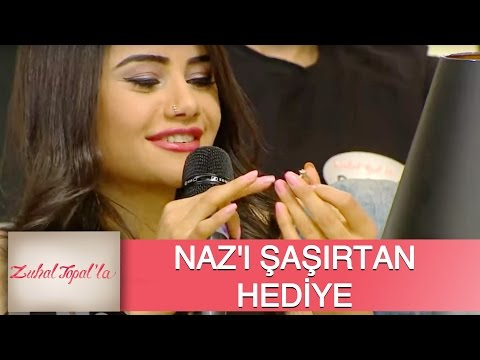 Zuhal Topal'la 82. Bölüm (HD)   Naz'a Şaşırtan Hediye!