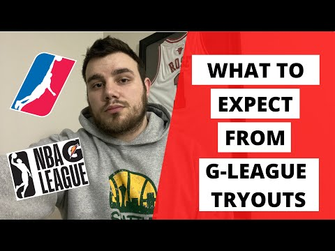 What To Expect From NBA G League Tryouts