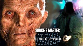 Snoke's Master Shocking News Revealed! The Rise Of Skywalker (Star Wars Episode 9)