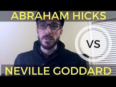 Abraham Hicks vs Neville Goddard: My Thoughts on New Thought Leaders [VLOG]