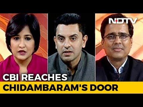 News Flash   INX Media Case: CBI Reaches P Chidambaram's Door