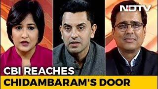 News Flash | INX Media Case: CBI Reaches P Chidambaram's Door