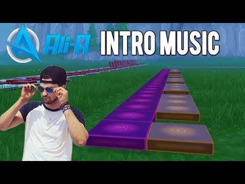 Fortnite Music Blocks: Ali-A Intro Music TUTORIAL!