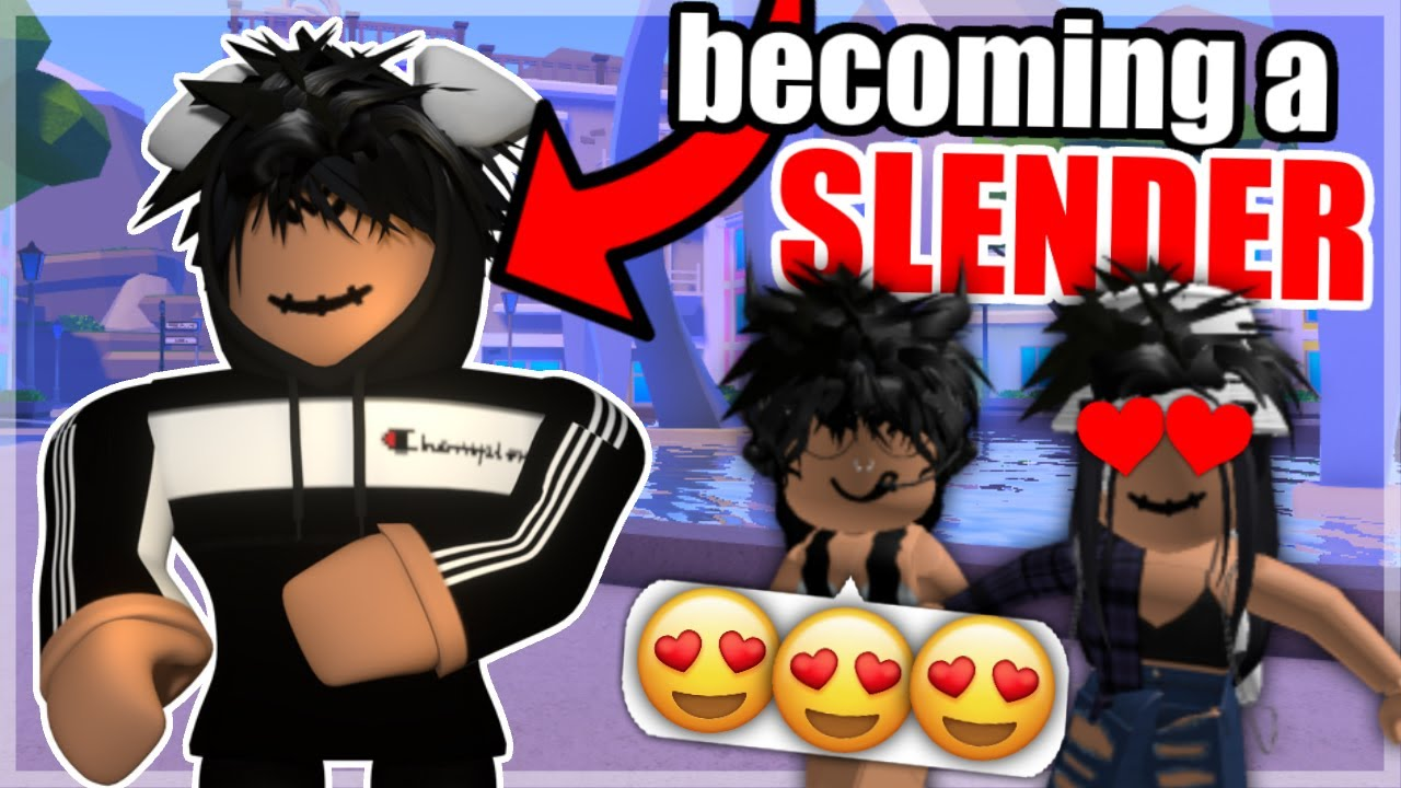 I Became A Roblox SLENDER For A Day..