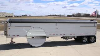 AUTOLOCK® Electric Tarp: See it in Action on a Timpte Grain Trailer