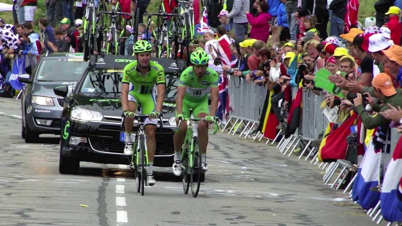 Must see video wheelie Peter Sagan Alpe d'Huez