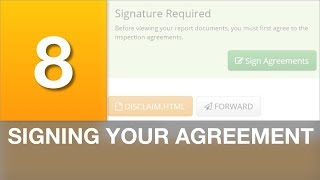 Signing Your Agreement
