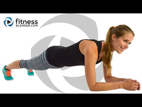 At Home Cardio Workout to Burn Fat & Tone (High & Low Impact Modifications)