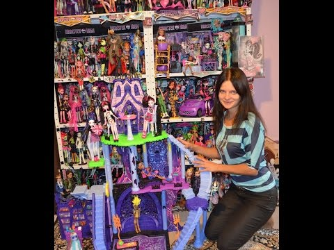 видео: monster high catacombs playset freaky fusion обзор на русском