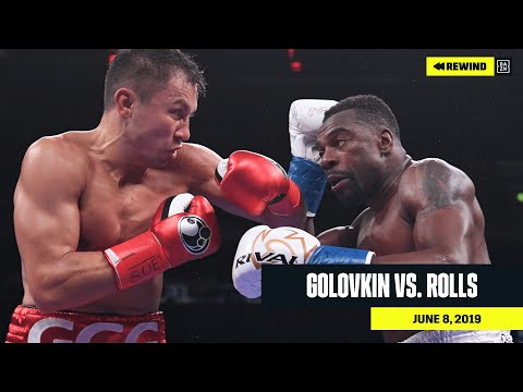 "FULL FIGHT | Gennadiy ""GGG"" Golovkin Vs. Steve Rolls (DAZN REWIND)"