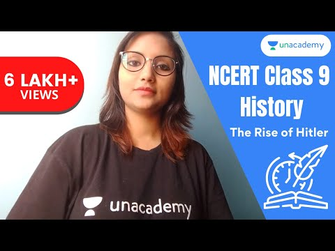 NCERT Class 9 History Chapter 3 | Nazism and The Rise of Hitler Part 1 (in Hindi)