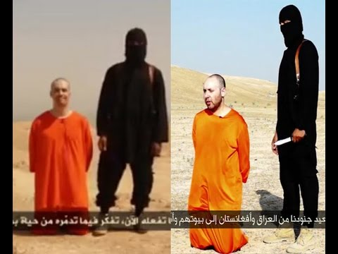 Steven Sotloff Beheading strikingly similar to James Foley - A close comparision
