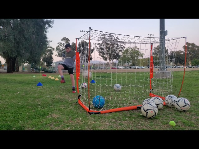 Soccer Volley Drill -  (Front View)