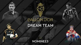 Ballon d Or Dream Team nominees revealed by France Football