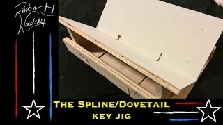 Spline/dovetail Key Jig