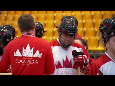 Gold Medal Floor Hockey Canada West vs South Africa Francais