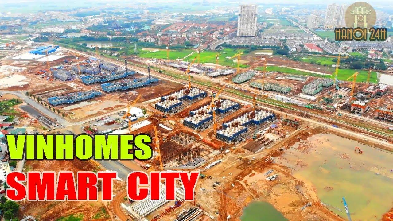 Vinhomes Smart City Tây Mỗ    Đại Đô Thị đang hình thành ở phía Tây Hà Nội