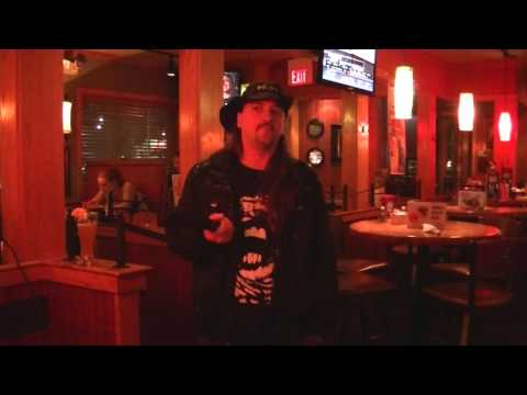 Buck Row singing Runaway by Bon Jovi on January 1, 2014 at Applebees in Vienna