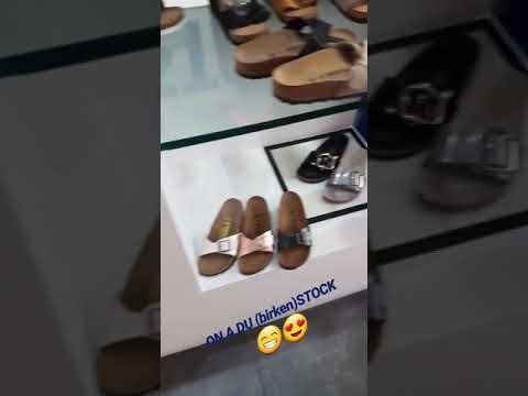 birkenstock à la boutique shoeshop Bastille au #94rue du faubourg saint Antoine Paris