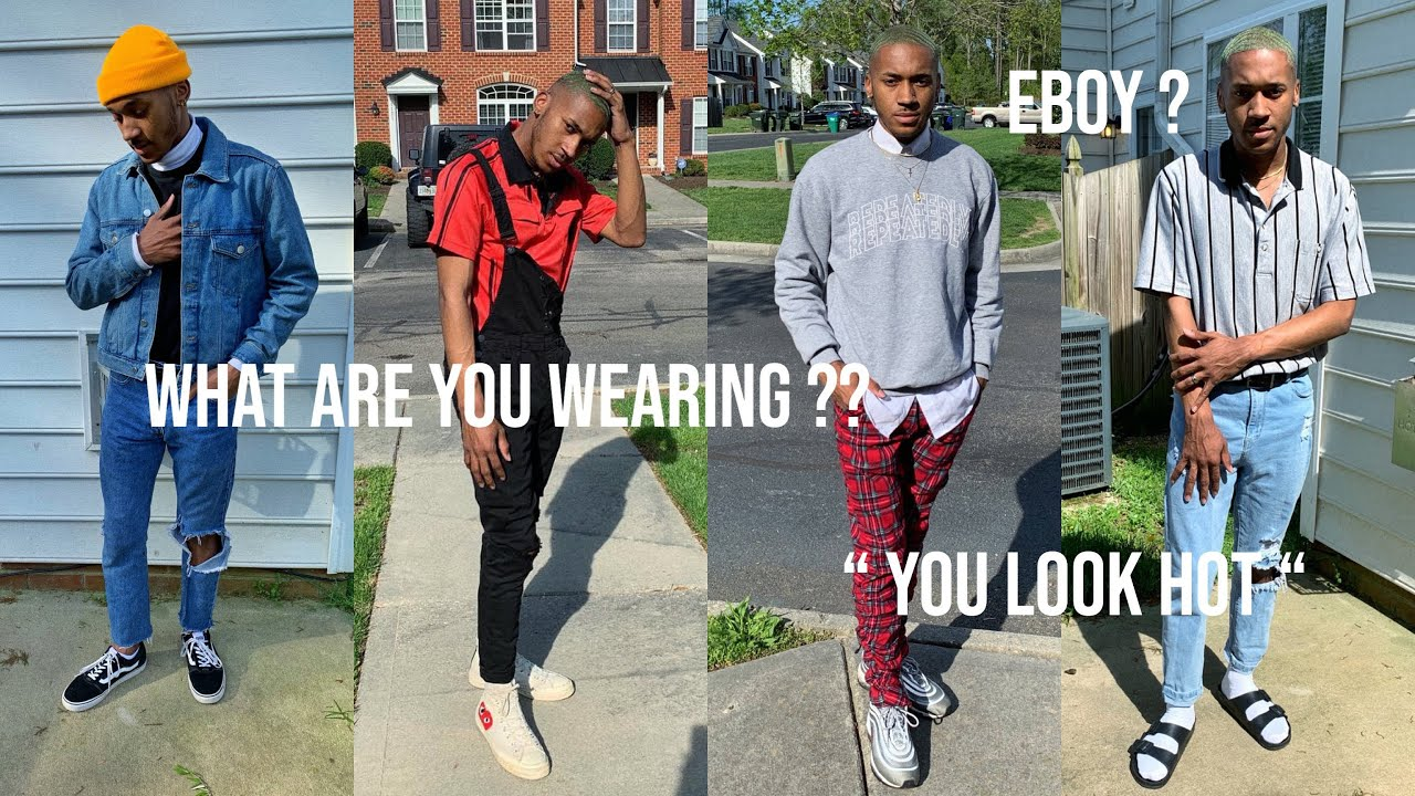 I wore TIKTOK eboy outfits to school for a week.