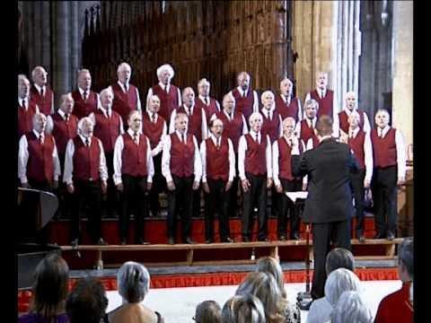 Peterborough male voice choir christmas