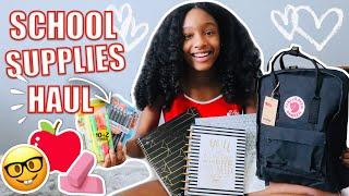 Back to School Supplies Shopping Haul 2019 | Jada Lit