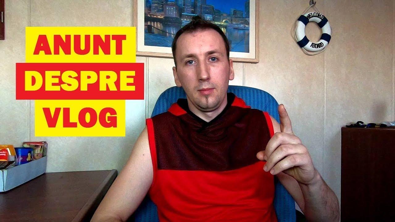 Anunț important despre Vlog. Ce urmează