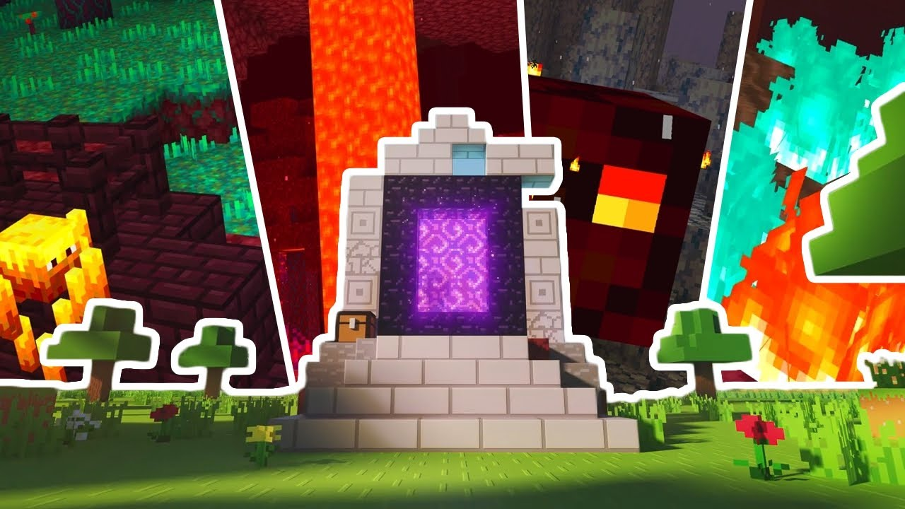 The BEST NETHER SEED For Minecraft 1.16 Bedrock Edition! (All New Biomes, 3 Bastions & 2 Fortresses)
