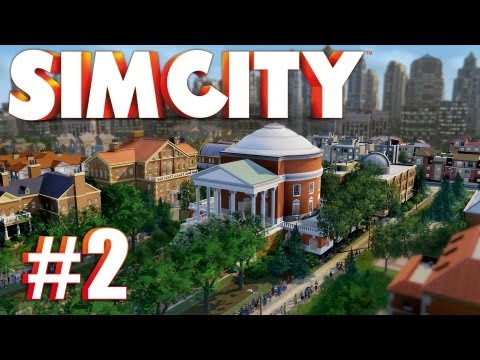 Let's Play SimCity (2013) - Episode 2: TRADE DEPOT