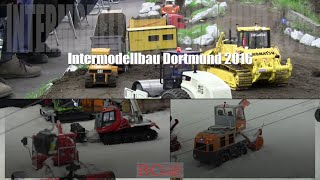 RC trucks and construction machines Intermodellbau Dortmund 2016 - part 2