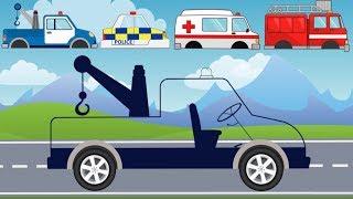 Street Vehicles with wrong head | Ambulance, Tow Truck | What Cabin? Karetka i Holownik Bajka