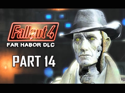 Fallout 4 Far Harbor DLC Walkthrough Part 14 - Shipbreaker (