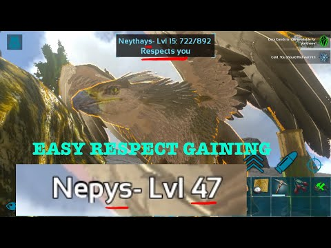 NEW EASIEST WAY TO GAIN GRIFFIN'S RESPECT - Ark: Survival Evolved