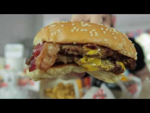 THE BURGER KING WORLD CUP SUPER FAMILY SHARER CHALLENGE (9,000+ Calories) | BeardMeatsFood