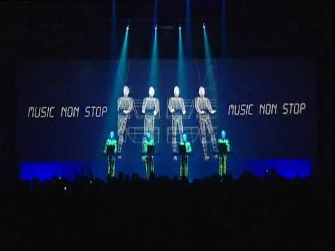 Kraftwerk - (Minimum Maximum) Music non stop - YouTube