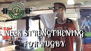 #RugLife 5 - Building Neck Strength for rugby?! Dentists DONT Watch