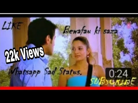 whatsapp sad status//Bewafai Ki Saza Maut Se Song //woh Bewafa//Agam Kumar, Nigam,