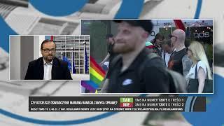"""L. LEMANIAK,  J. PACAN - """"ŚRODOWISKA LGBT DOMAGAJĄ SIĘ NIE PRAW, A PRZYWILEJÓW"""""""