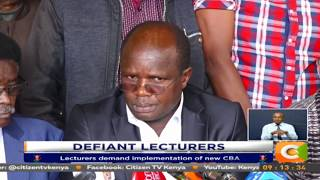 Defiant Lecturers