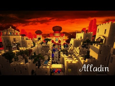 Minecraft Disney Aladdin Youtube